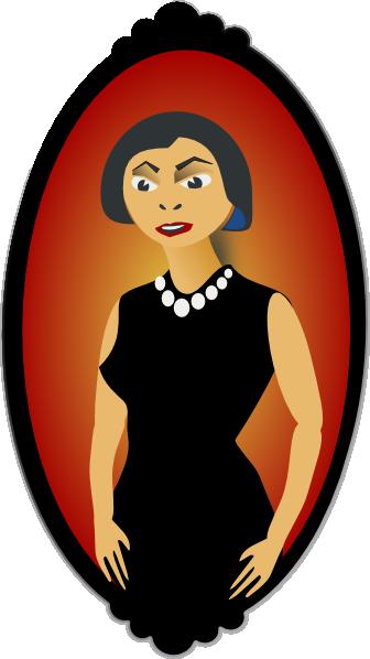 Portrait clipart At royalty  online Clip
