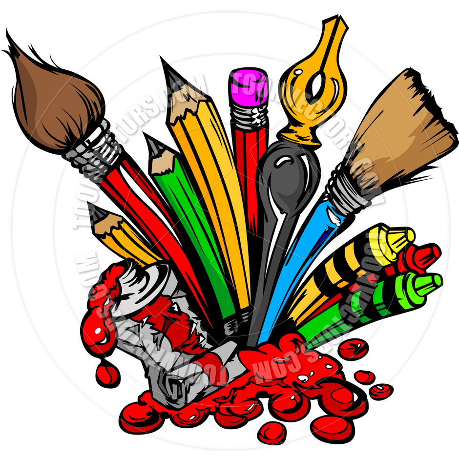 Artistic clipart drawing material Download Art on Free Clipart