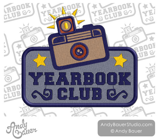 Bobook clipart yearbook Club Andy Yearbook Club Camera