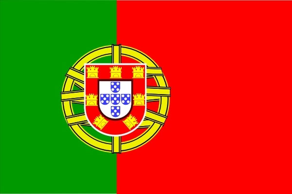 Portugal clipart Art in vector Of Flag