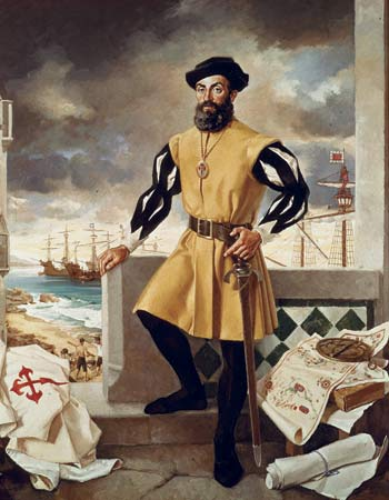 Portugal clipart ferdinand magellan As famous explorer on the
