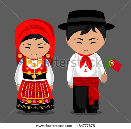 Portugal clipart russian man Dress in traditional Portuguese with