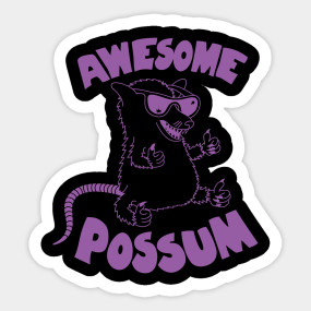 Possum clipart awesome #13