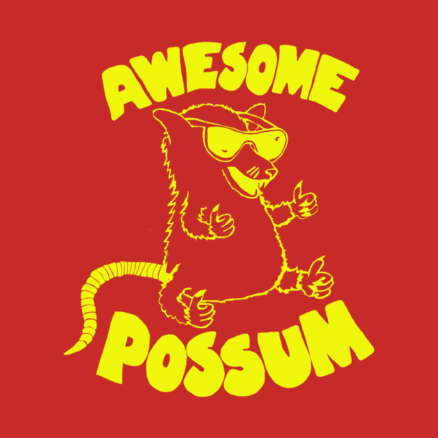 Possum clipart awesome #9