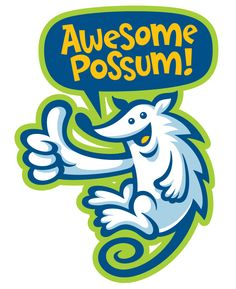 Possum clipart awesome #5