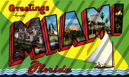 Postcard clipart art Clipart Postcards Florida Florida Download