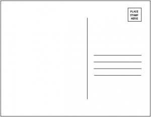 Postcard clipart art Postcard Clip Card Post Cliparts