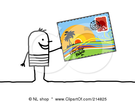 Postcard clipart art Song…so one is Life start