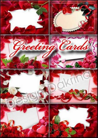 Postcard clipart greeting card PSD Greeting Postcard Greeting with