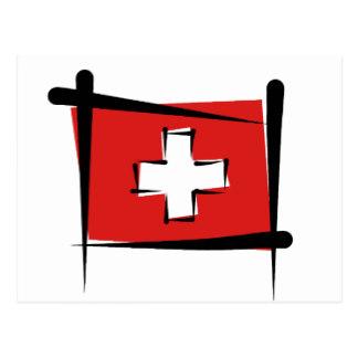 Postcard clipart switzerland Zazzle Brush Postcards Postcard Swiss