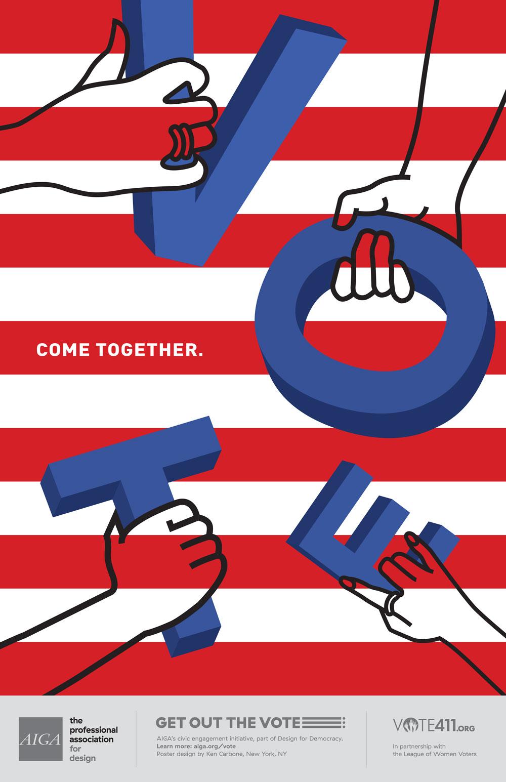 Poster clipart campaign Design Vote