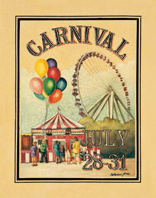 Poster clipart carnival #12