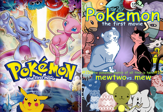 Covered clipart movie poster Pokemon with Movie sans poster
