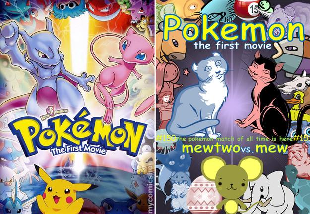 Covered clipart movie poster Pokemon with sans pokemon art