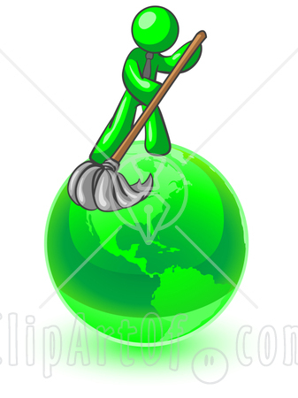 Poster clipart environmental cleanliness Environment Page Man To With