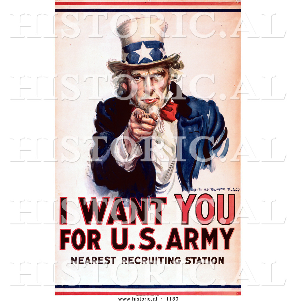 Uncle Sam clipart american government For of the Poster Illustration