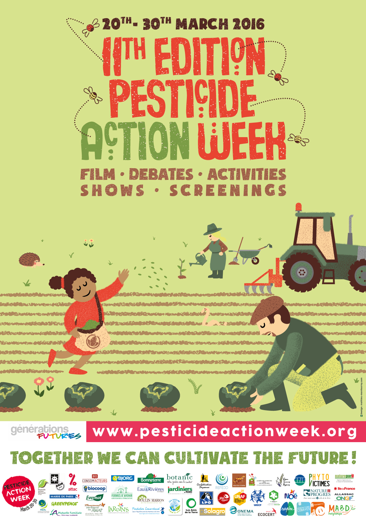 Poster clipart insecticide Semaine you The pesticides 2016