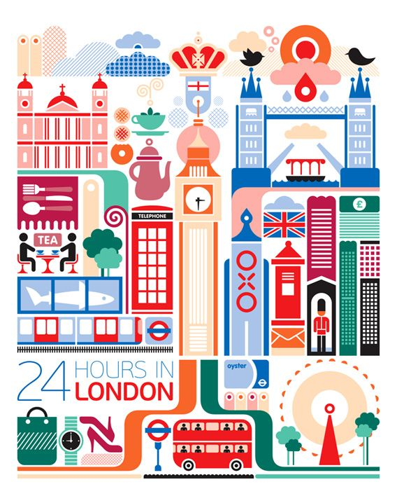 Poster clipart london #2