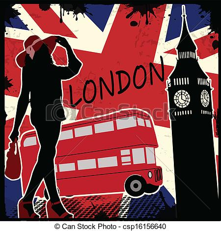 Poster clipart london #4