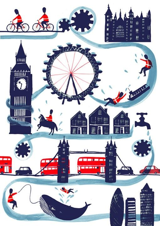 Poster clipart london #8