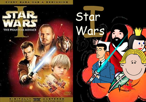 Covered clipart movie poster Recreating art movie comic with