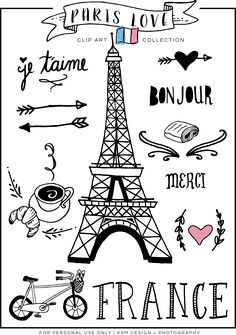 Sketch clipart paris Clipart Paris Love Of +