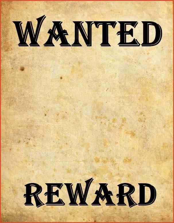 Poster clipart template #450633: Wanted MOST  POSTER