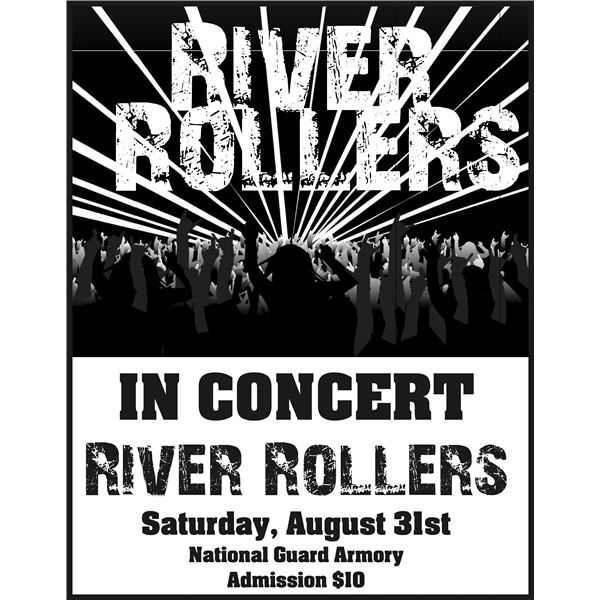 Poster clipart template Create Own riverrollers3 Templates Your