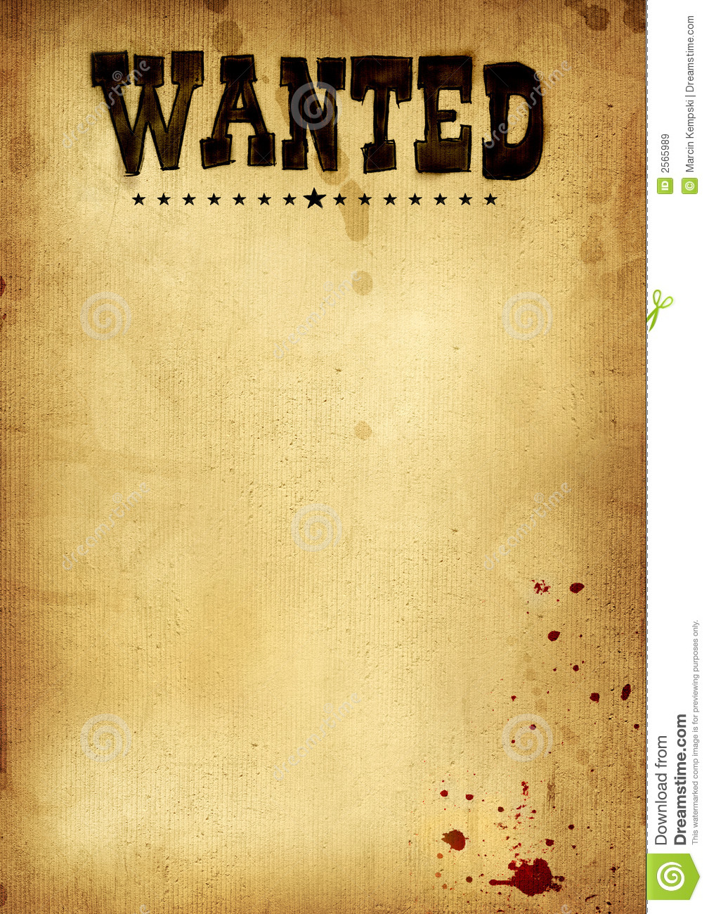 Poster clipart template Poster Cowboy Clip Wanted Clip