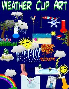Poster clipart weather Beautiful Clip and boards bulletin