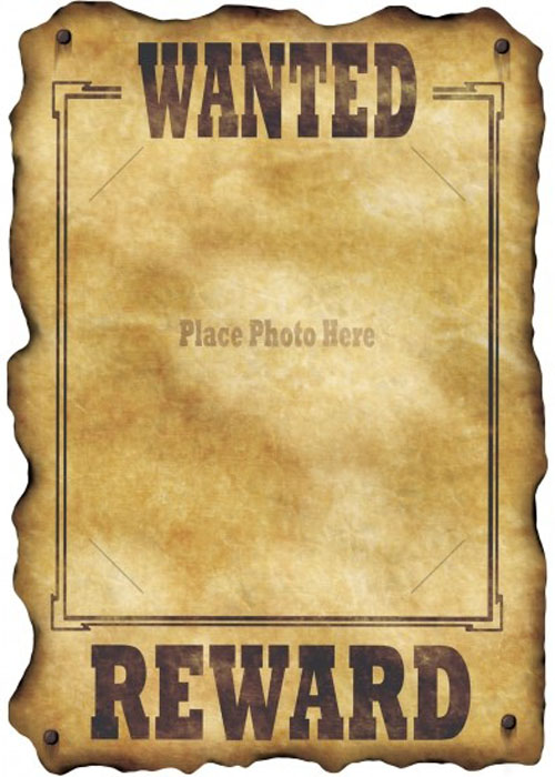 Western clipart wanted Poster Westerns Superstore Wild Struts