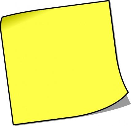Post-it clipart Panda Clipart Notes note%20clipart Clipart