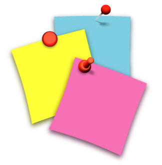 Post-it clipart Notes Collection Clipart Clipart Post