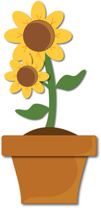 Pot Plant clipart Download Clipart Plant Pot Clip