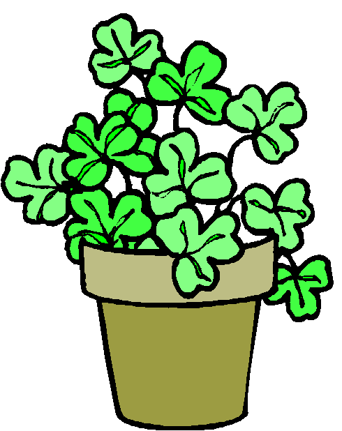 Pot Plant clipart Black Art clip plant Potted