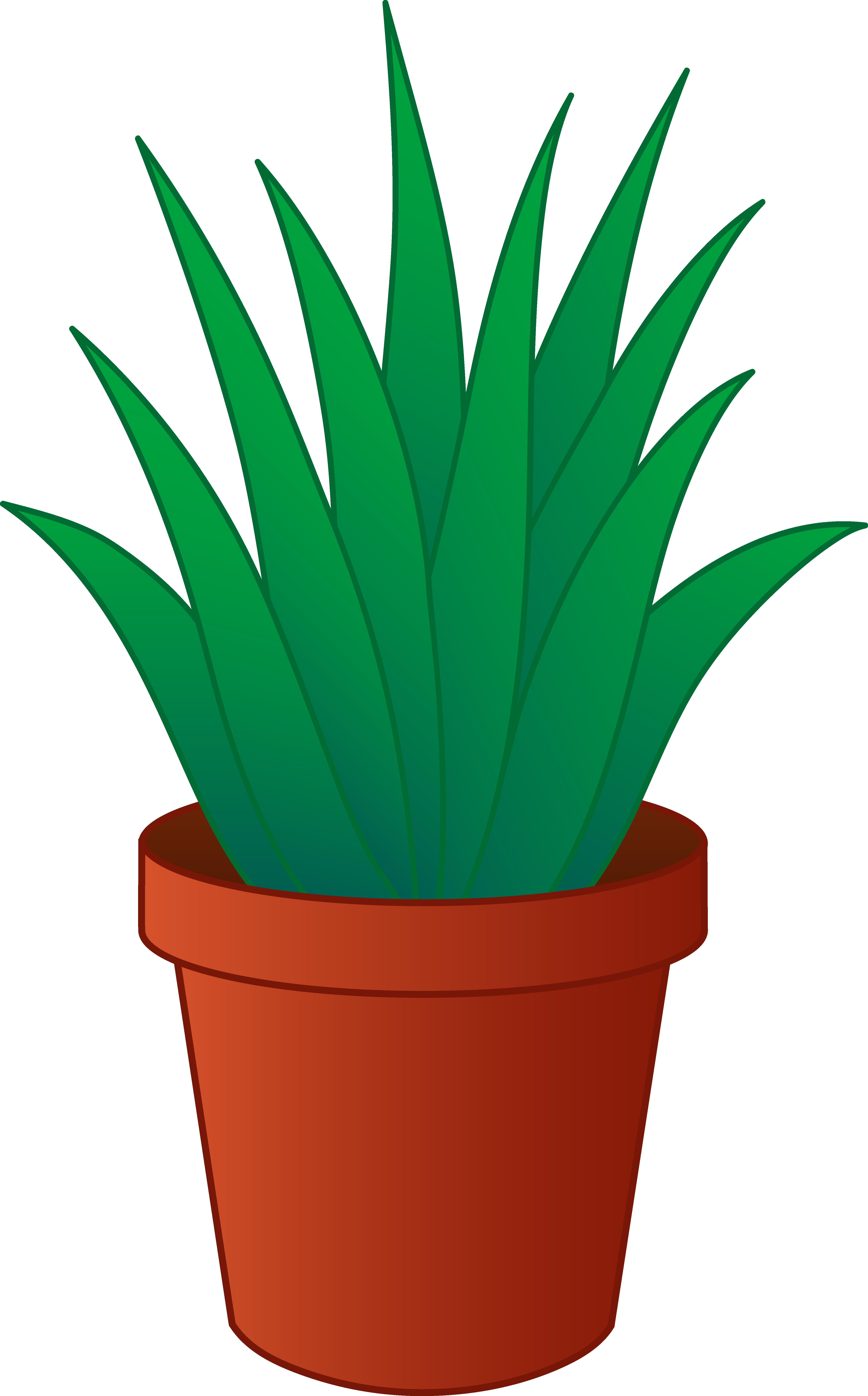 Drawn pot plant animated Clipart clipart Free Panda Clipart