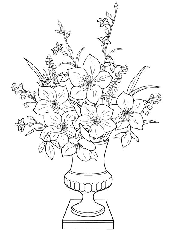 Drawn pot plant flower Pot Download Plants In Clip