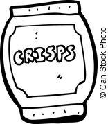 Potato Chips clipart packet crisp Potato Royalty Clip  Art