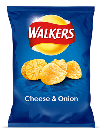 Potato Chips clipart packet crisp UK Range Walkers Crisps Onion