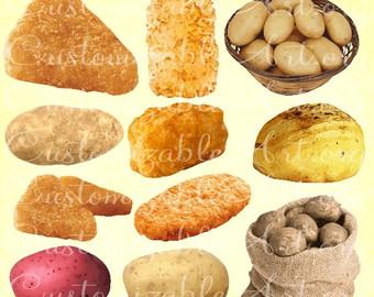 Potato Chips clipart tater Tater Clipart Potato Potato Golden