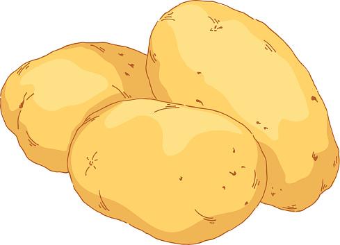 Pice clipart potato #2