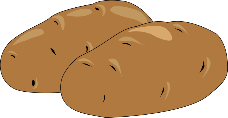 Pice clipart potato #4