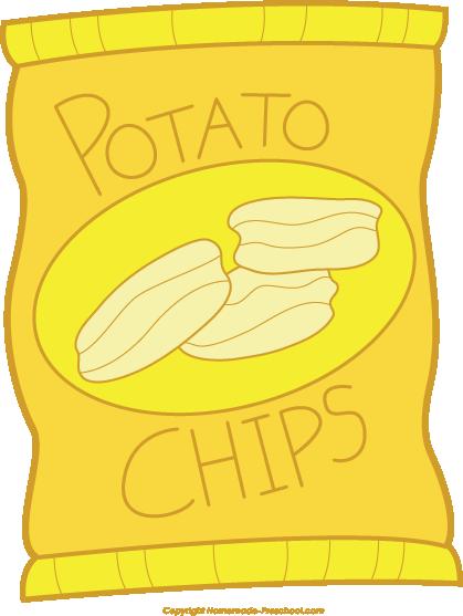 Potato Chips clipart packet crisp Clipart clip art chips Clipart