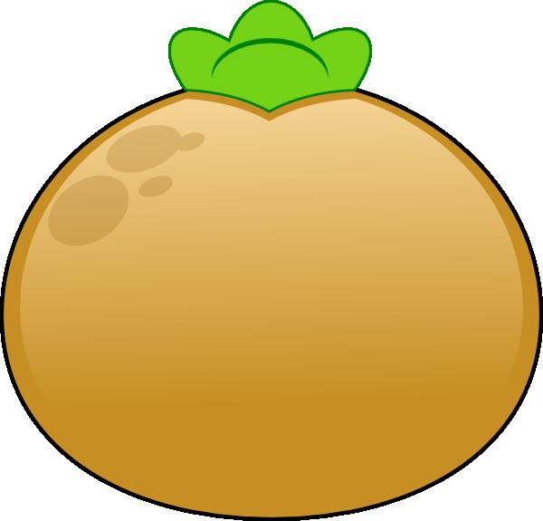 Potato clipart brown Clip art Potato Brown Art