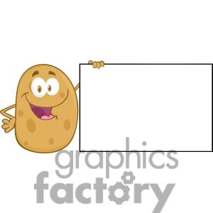 Cartoon clipart potato #102 Fans art clip Clipart