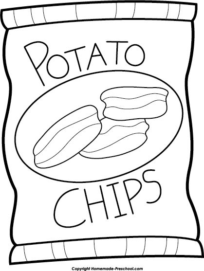 Potato clipart coloring Best images Pinterest Bag 59