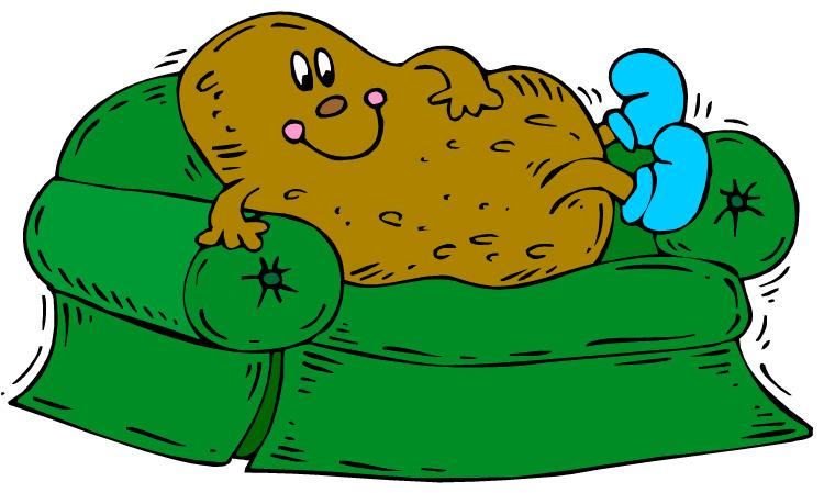 Potato clipart logo And couch Cliparts Potato Couch