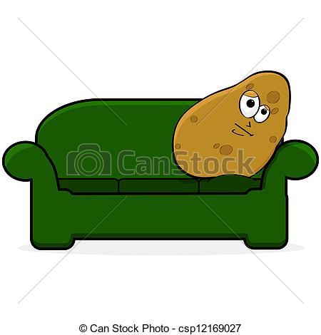 Potato clipart logo Illustration Couch Vector potato Couch