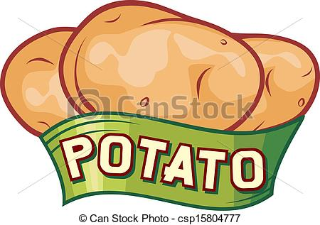 Potato clipart logo  Vectors of design potato