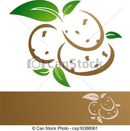 Potato clipart logo Vector Potatoes Art csp16388061 Potatoes